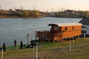Balta de pescuit Laguna Verde, in apropiere de Bucuresti, judetul Ilfov